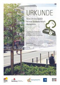 Urkunde-Baumpatenschaft